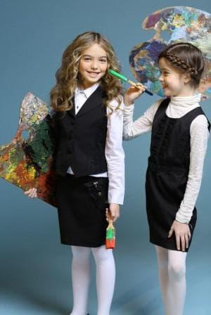 детский сарафан в школу от De Salitto