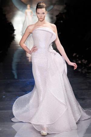 свадебное платье от Giorgio Armani