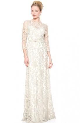 свадебное платье от Tadashi Shoji