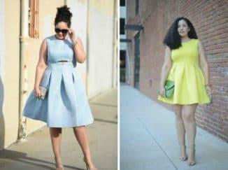 какие платья идут девушкам с широкими бедрами