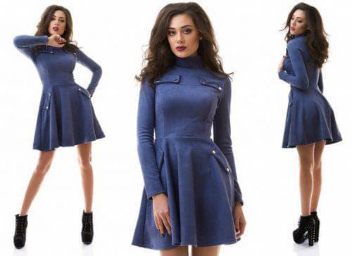 платье из искусственной замши Irmana