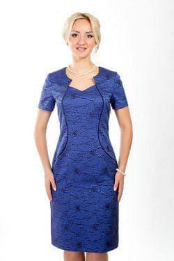 платье Нью-лук из жаккарда