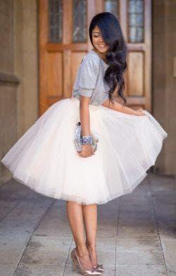 платье пачка из фатина