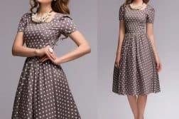 нарядные платья для женщин большого размера