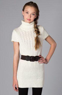 платье свитер для подростков