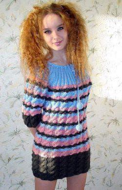 платье туника для подростков