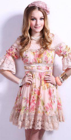 красивое платье ретро для подростков