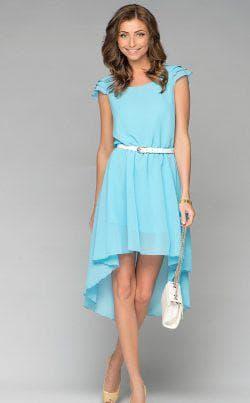 бирюзовое платье для подростка