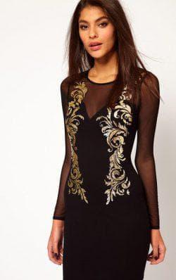 чёрное платье для подростка