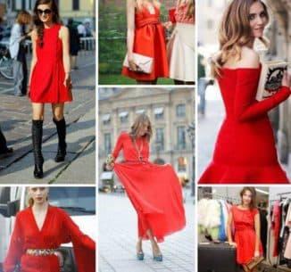 какие украшения подойдут к красному бархатному платью