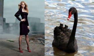 фото какие туфли надеть с черным платьем