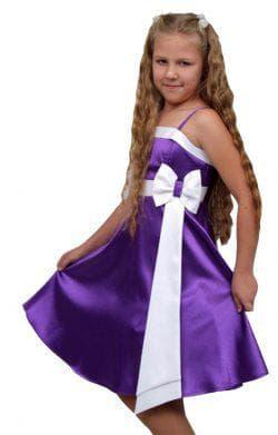 бальное платье из атласа для девочек подростков 14 лет