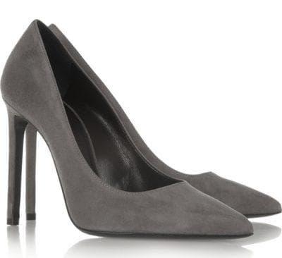 туфли темно-серого оттенка