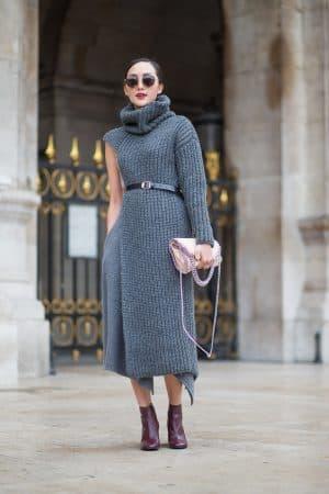 платье лапша Street-style