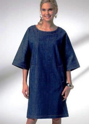 111-1-e1510564025292 Платье с цельнокроеным рукавом — кому подходит и варианты фасонов