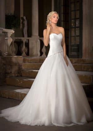 свадебное платье в пол бренда Gabbiano