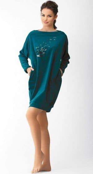 домашнее платье трапеция из велюра
