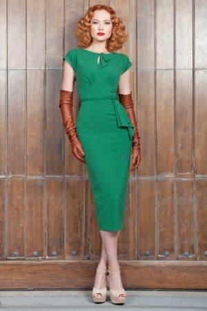 платье футляр в стиле 60 х годов