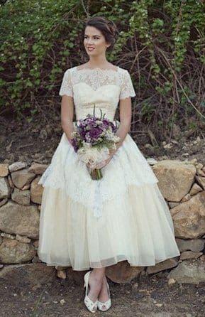 свадебное платье розового цвета в стиле 60 х годов