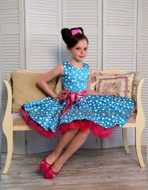 детское платье в стиле 60 х годов
