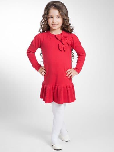 детские платья с длинным рукавом фонариком
