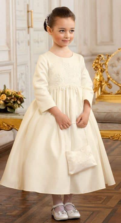 детское платье принцесса с длинным рукавом