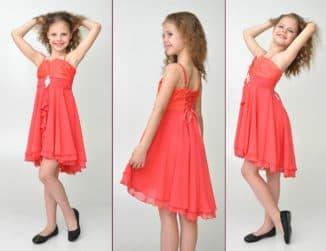 детские коктейльные платья