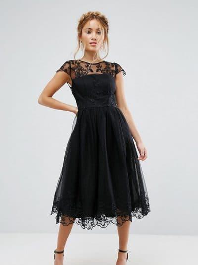 вечерние классическое платья миди