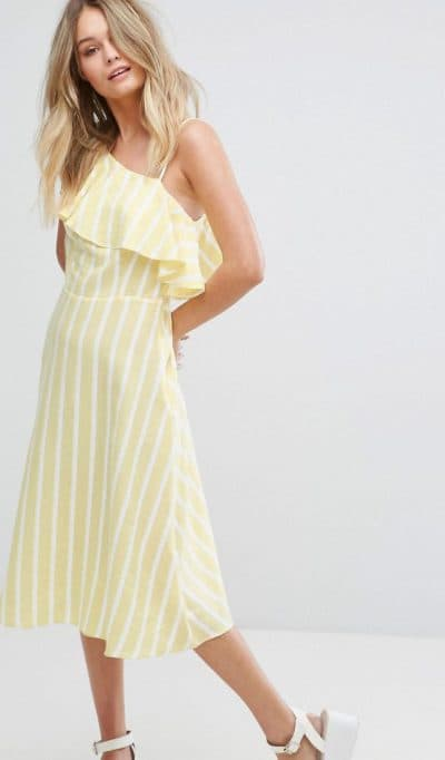 платья миди new look