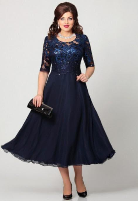 нарядные платья для полных женщин на свадьбу Mira Fashion