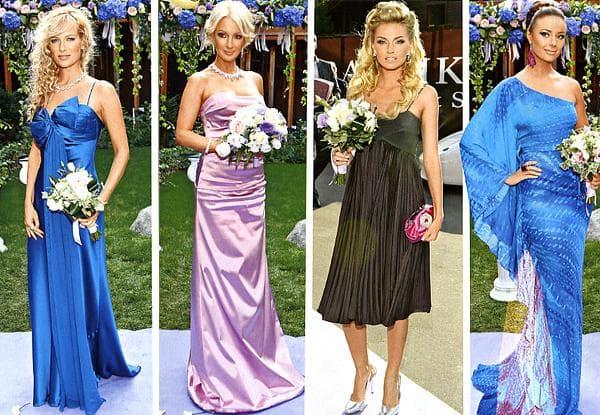 приталенные платья на свадьбу гостье