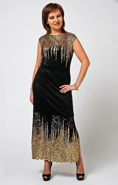 разрез сбоку в платье-сарафане для взрослых женщин