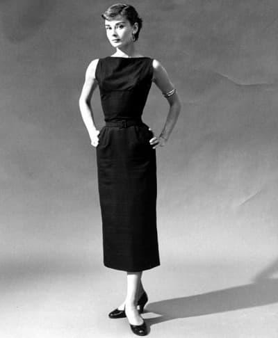 маленькое чёрное платье из фильма Сабрина