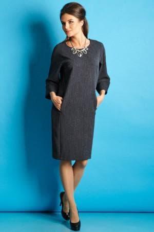 платье строгого кроя для женщин