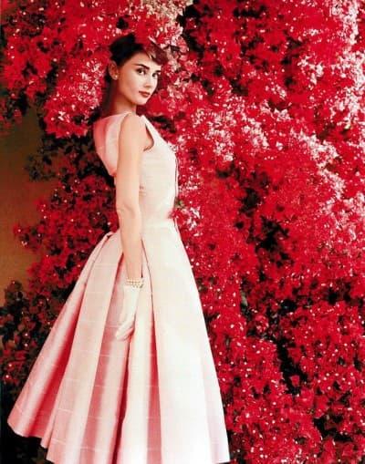 цветочное платье Одри