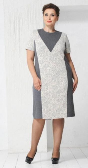 платье-футляр большого размера
