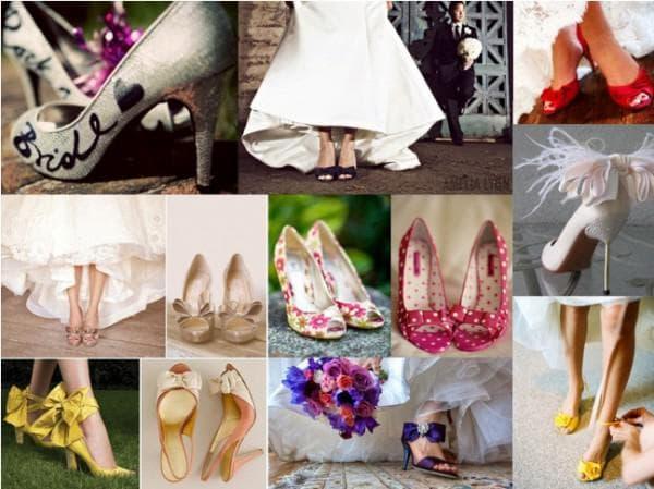 туфли и аксессуары на свадьбу