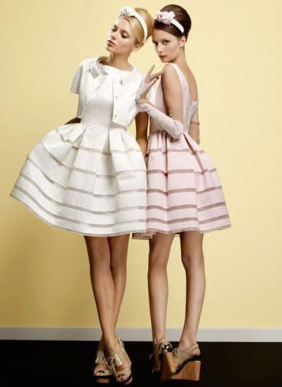 свадебное платье трапеции от одри хепберн