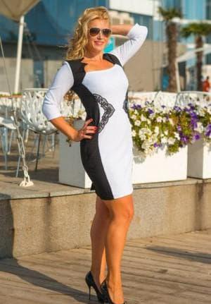 платье песочные часы для женщин 45 лет