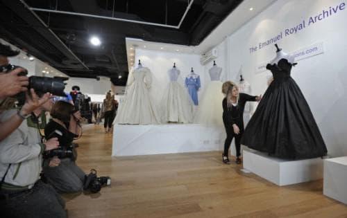 самое известное черное платье было продано на аукционе в Лондоне в 2006 году