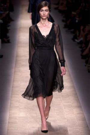 чёрное платье от Прет-а-порте