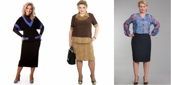 платье груша для женщин 45 лет