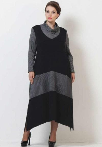 платье большого размера от Армани