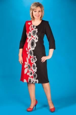 платье А силуэт для женщин 50 лет