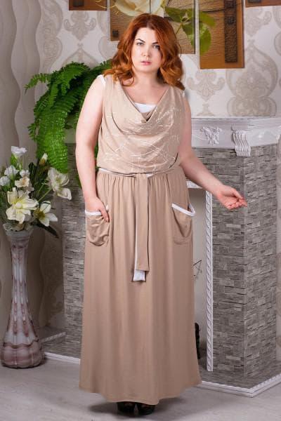 платье большого размера от Gucci