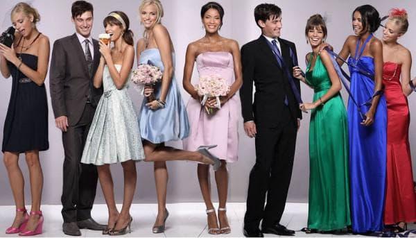 летний наряд на свадьбу для гостей