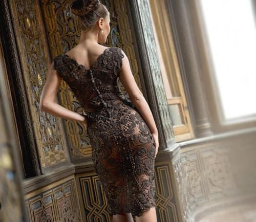 ирландское кружево платья