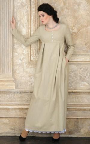длинные платья фасона типа А для беременных