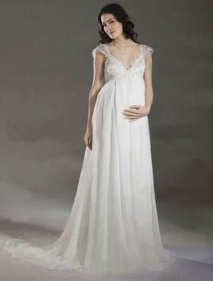 длинные платья ампир для беременных