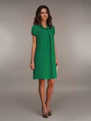 длинное платье со складками для беременных